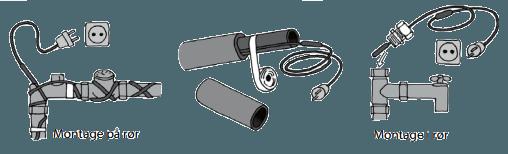 Sensationelle Varmekabler til frostsikring af vandrør - Selvregulerende kabel QH02